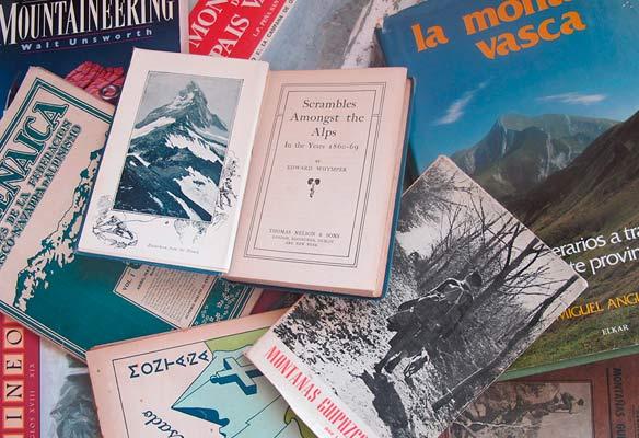 Euskal mendizaletasunaren liburutegia