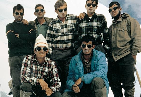 1967 an Peruko Andeetara antolatutako lehenengo euskal espedizioaren partaideak (Espedizioaren bilduma)