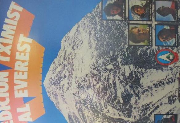 Kartela - 1974ko Everesterako Tximist espedizioa