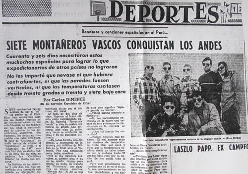 EMMOA Museoari emandako Euskal mendizaletasunari buruzko egunkarien bildumak