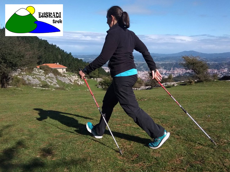 2 cursos de iniciación a la marcha nórdica, Euskadi Trek